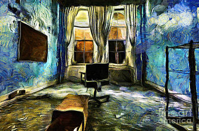 Painting - Mystical Room by Milan Karadzic