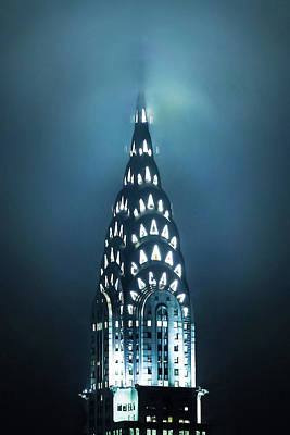 Chrysler Building Photograph - Mystical Spires by Az Jackson