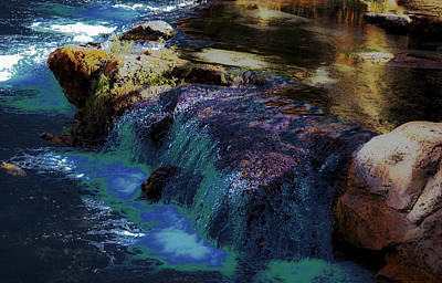 Mystical Springs Art Print by DigiArt Diaries by Vicky B Fuller