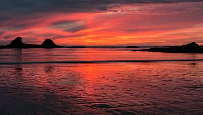 Photograph - Mystical Sunset by Loree Johnson