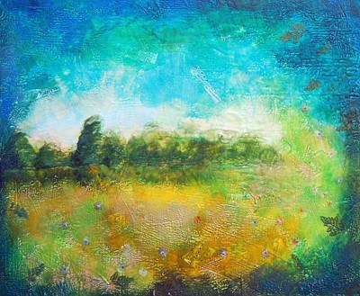 Mystical Trees Art Print by Joya Paul