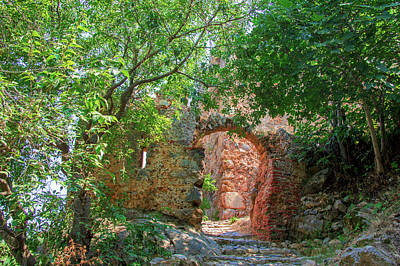 Photograph - Mystical Way Up To The Castle Of Alanya by Sun Travels
