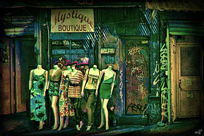Photograph - Mystique Boutique by Chris Lord