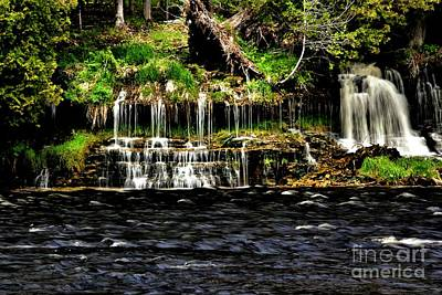 Photograph - Mystique Falls by Matthew Winn