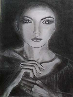 Mystique Drawing - Mystique by Priyanka Singh