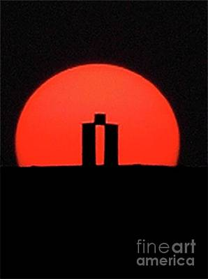 Photograph - Mystonehenge by Mary Kobet