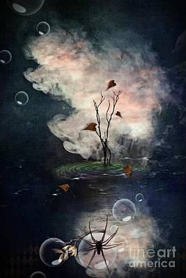 Digital Art - Mythical Autumn by Monique Hierck