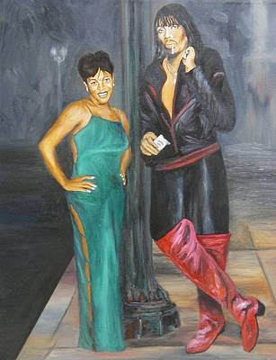 Mz Thang And Rick James Art Print