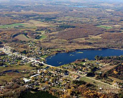 Photograph - N-013 Neshkoro Wisconsin by Bill Lang