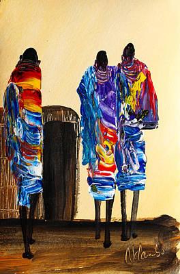 Painting - N 103 by John Ndambo