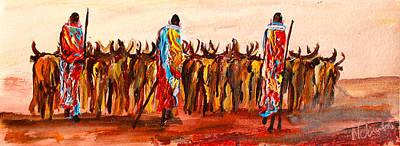 Painting - N 118 by John Ndambo