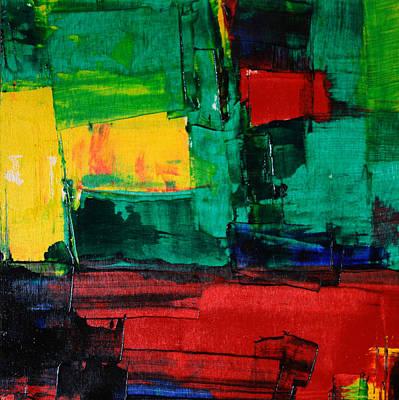 Painting - N 23 2015 Paul Ashby C2015 by Paul Ashby
