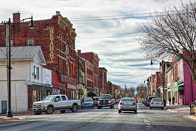 Photograph - N. American Small Town by Tatiana Travelways