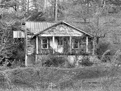 Old House Photograph - N C Ruins 1 by Mike McGlothlen