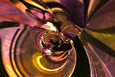 Digital Art - N Folds by Richard Thomas