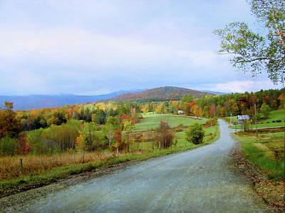 Photograph - N. Hollow Road by John Rivera