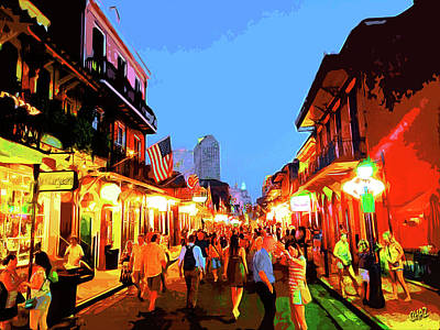 Painting - N O  French Quarter 2 by CHAZ Daugherty