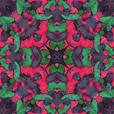 Digital Art - N O V -month- -pattern- by Coded Images