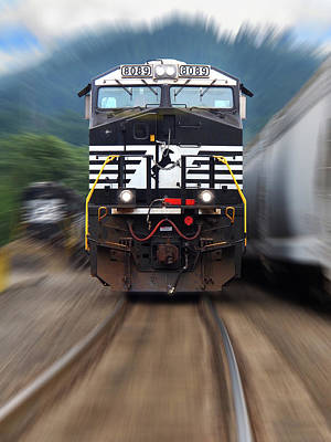 Photograph - N S 8089 On The Move by Mike McGlothlen