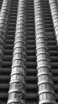 Photograph - N Y C Architecture B W 1 by Rob Hans