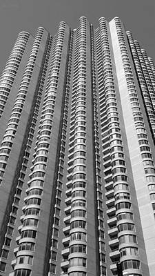 Photograph - N Y C Architecture B W 2 by Rob Hans