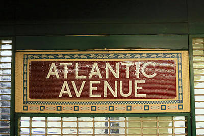 Photograph - N Y C Subway Scenes # 52   by Allen Beatty