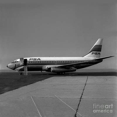 N462gb, Boeing 737-293, Long Beach, California, Lgb Art Print by Wernher Krutein