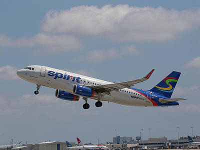 Photograph - N636nk Spirit Air by Dart and Suze Humeston