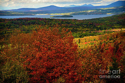 Photograph - Overlooking Rangeley by Alana Ranney