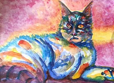Painting - Na Nadia by Kim Shuckhart Gunns