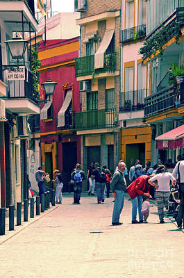 Photograph - Triana On A Sunday Afternoon 1 by Mary Machare