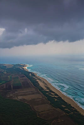 Photograph - Na Pali Aerial by Steven Lapkin