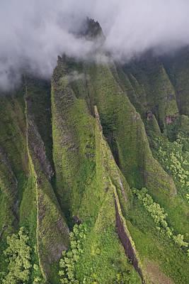 Photograph - Na Pali Cliffs by Steven Lapkin