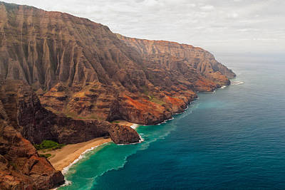 Best Ocean Photograph - Na Pali Coast 3 by Brian Harig