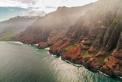 Photograph - Na Pali Coast 4 - Kauai Hawaii by Brian Harig