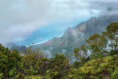 Photograph - Na Pali Coast From Kalalau Lookout Kauai Hawaii 7r2_dsc4622_01112018 by Greg Kluempers