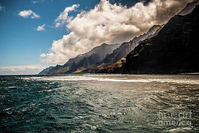 Photograph - Na Pali Coast Looking North by Blake Webster