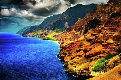 Photograph - Na Pali Coast by M G Whittingham