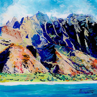 Painting - Na Pali Coast by Marionette Taboniar