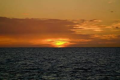 Photograph - Na Pali Sunset by Devin Millington