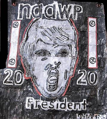 Mixed Media - Naawp by William Tilton