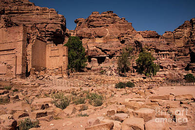 Photograph - Nabatean's Village by Mae Wertz