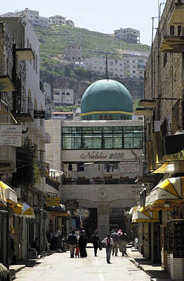 Photograph - Nablus Downtown by Isam Awad