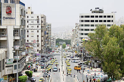 Photograph - Nablus Street by Munir Alawi