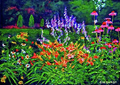 Nadine's Garden Original by Michael Durst