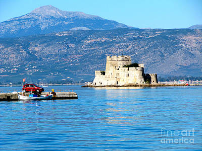 Photograph - Naflion Greece Harbor Fortress by Phyllis Kaltenbach