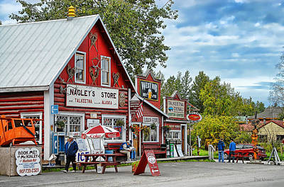 Photograph - Nagley's Store by Dyle   Warren