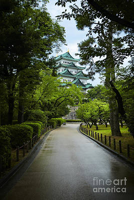 Photograph - Nagoya Castle by Ben Johnson