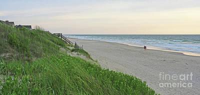 Photograph - Nags Head Beach 2663 by Jack Schultz