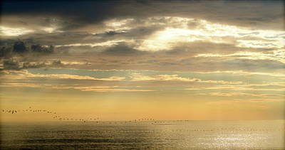 Photograph - Nags Head, Nc Sunrise by Teresa Tilley